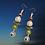 Thumbnail: Beautiful Mixed Sassy Slip On Beaded Style Chic Earrings