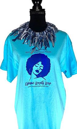 Loopty Lady Sky Blue Tees