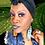 Thumbnail: Beautiful  Sky Wooden Charmed  Fashion Style Earrings