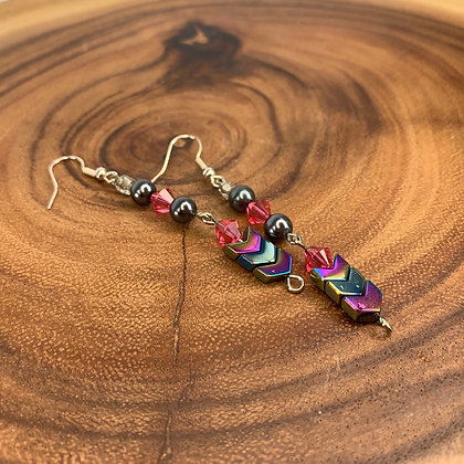 Shimmer Grady boho chic earrings