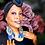 Thumbnail: Sequence Denim  Fringe Bottom Fashion Style Earrings