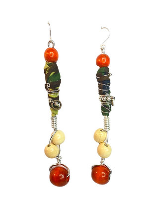 Camouflage Shy Town Chic Earrings
