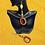 Thumbnail: Statement Shell Basket Weave Fashion Style  Earrings