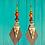 Thumbnail: Tribal Charm Dangle Style Fashion Earrings