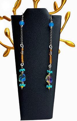 Lady Long Legs Wire Earring
