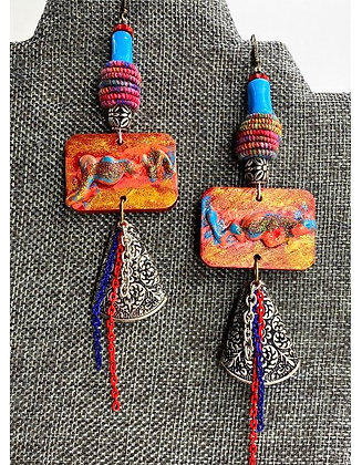 Crimping Creation Earrings