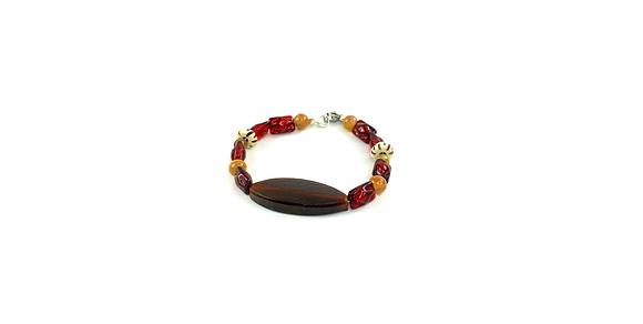Sassy boho beaded bracelet