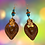 Thumbnail: Sweet Chocolate Copper Lady Fashion Style Earrings