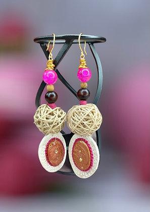 Lady Mocking Bird Nestled Earrings