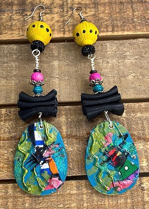 Stylish Garden Earrings