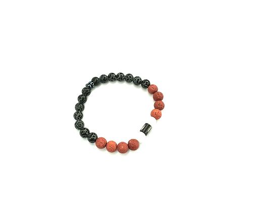 Rustic part of you lava fashion trend bracelet