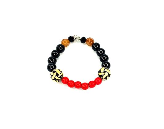 Hot cherry bomb side cream cannon fashion style bracelet