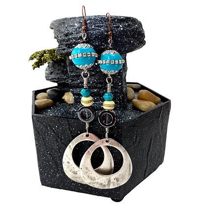 Bestie 360 Turquoise Earrings