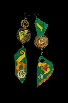 London Drift Jeweled Earrings