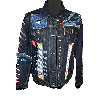 Lady Over Board DenimJacket
