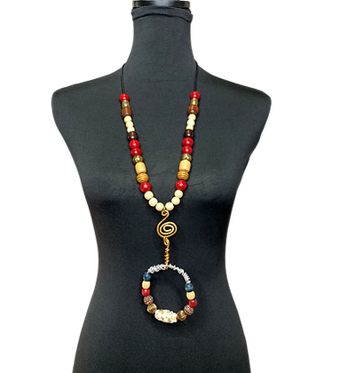 Above The Flames Necklace