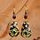 Thumbnail: Hand Painted Earrings