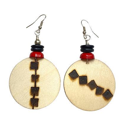 Boho Delight Smoke Handmade Dangle Earrings