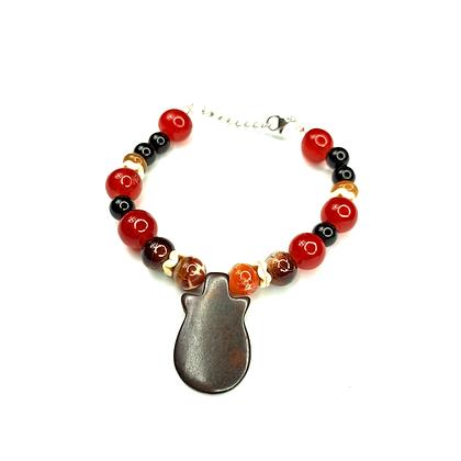 Charmed beyond agate gemstone bracelet