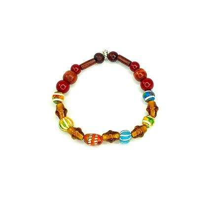 Sugar cane boho blast style bracelet
