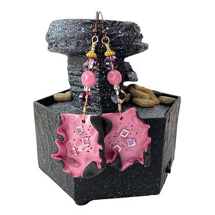Pink Lady Model Earrings