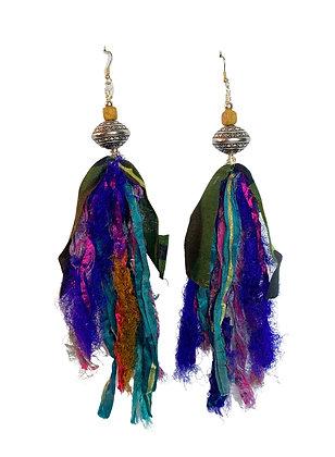 Siri Yarn Abstract Funky Earrings