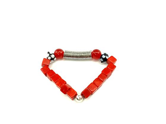Let the music play boho flash funky fashion style bracelet