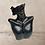 Thumbnail: Black Shoulder Drop Shimmer Fashion Bead Earrings