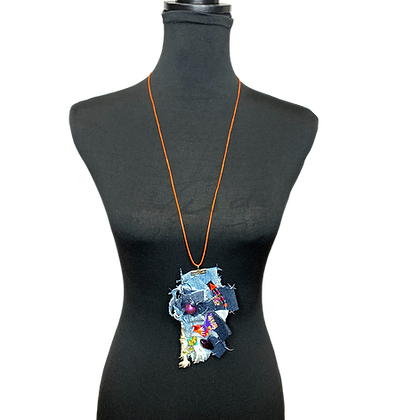 Abstract Lady Handmade Necklace