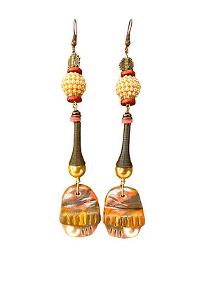 Grand Canyon Falls Jeweled Earrings