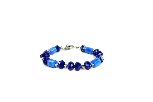 Blue canary cool bracelet