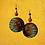 Thumbnail: World Of Beautiful Fashion Wood Wire Earrings