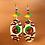 Thumbnail: Angle Boho Wood Style Lady Earrings