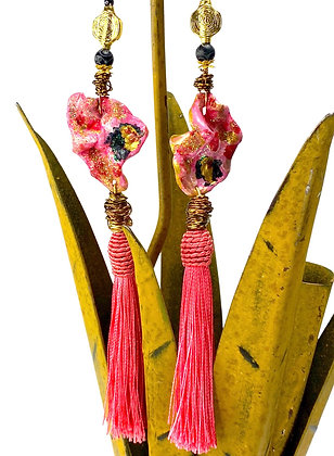 Passion Poly Poly Tassel Earrings