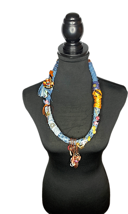 Spoken Word Snap N Jingle Necklace