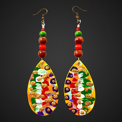 Summer Day Fruity Fashion Dangle Style Earrings