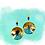 Thumbnail: Shifting Beauty Boho Wood Dangle Earrings