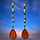 Thumbnail: Drop Shoulder Green Beaded Fashion Style Earrings