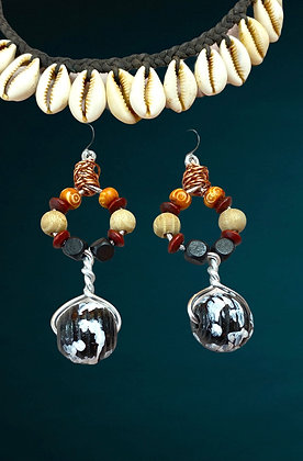 Journey Beaded Earrings