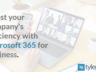 Boost Your Company's Efficiency with Microsoft 365 for Business.