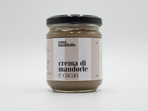 Crema di Mandorle al Cacao 190 gr