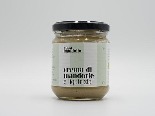 Crema di Mandorle e Liquirizia© 190 gr