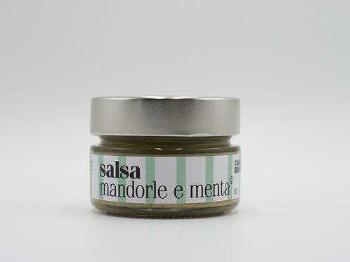 Salsa Mandorle e Menta © 120 gr