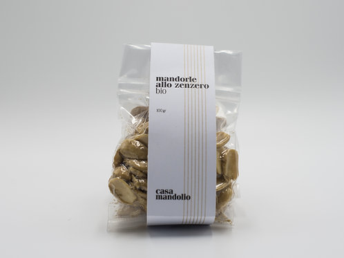 Mandorle allo zenzero | Bio 100 gr