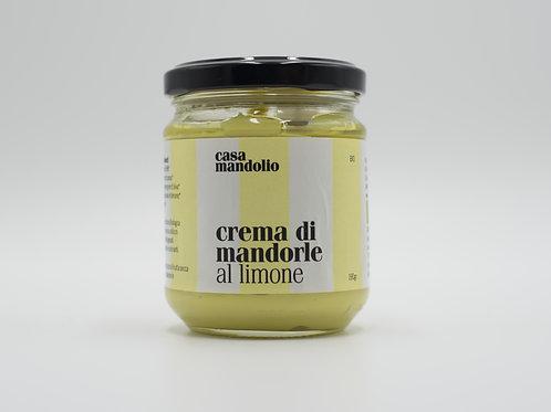 Crema di Mandorle al Limone 190gr