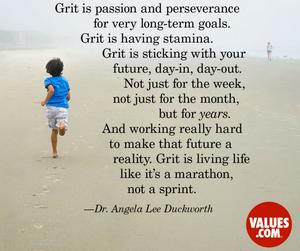 Grit, determination