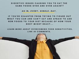 Overcoming food sensitivities