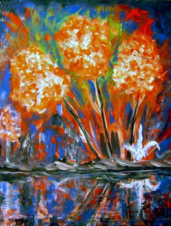 """""""Tropical Reflections""""  $175.00"""