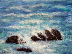 Rugged Sea   $175.00