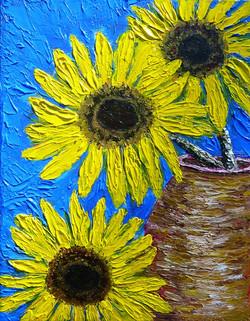 Three Sunflowers  $175.09